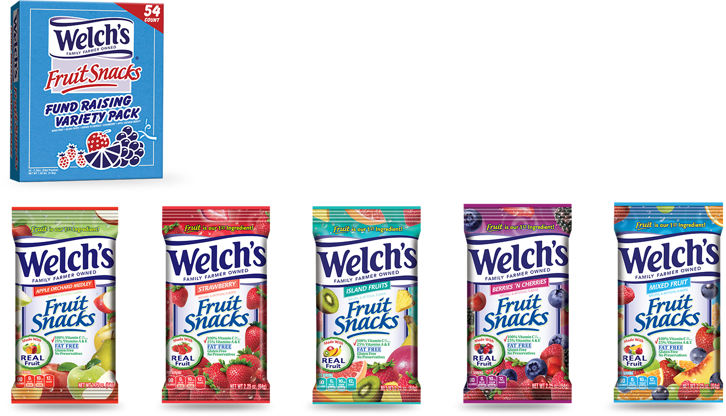 welch's packs