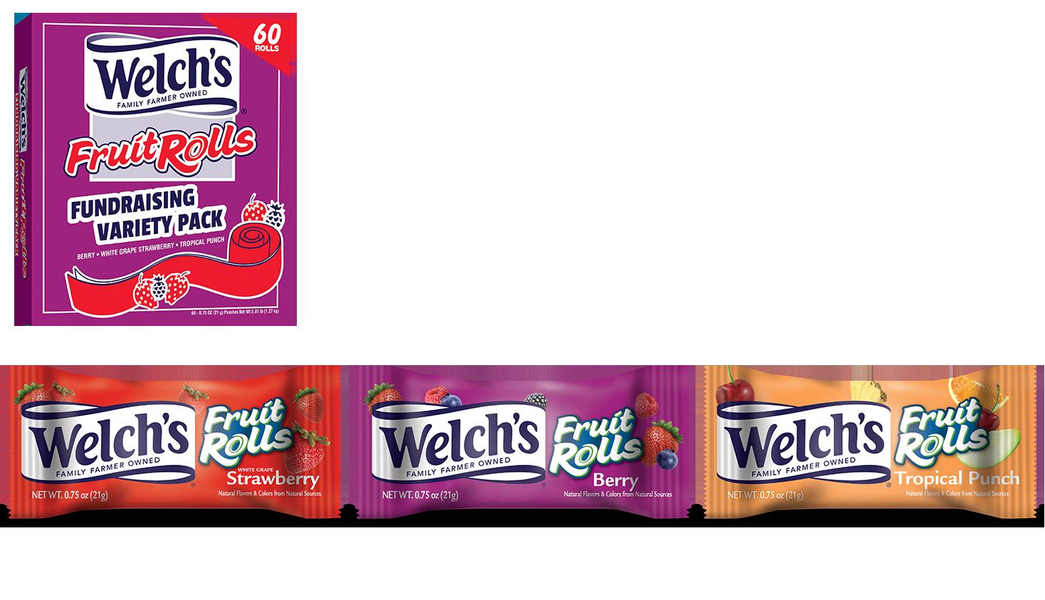 welch's fruitrolls packs