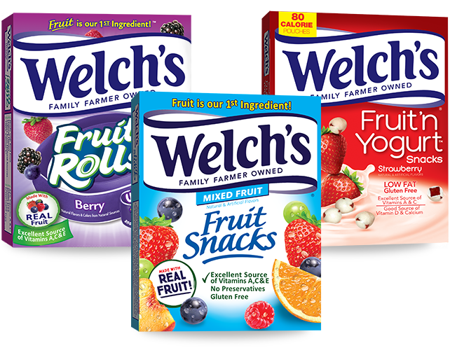 welchs fruit snacks