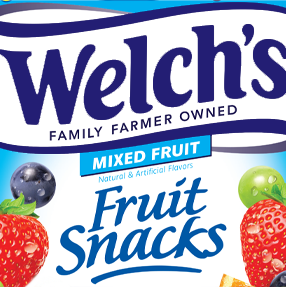 welchs fruit snacks mixed fruit